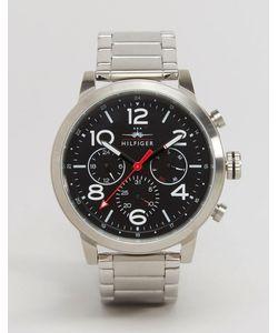 Tommy Hilfiger   Серебристые Наручные Часы С Хронографом Jake 1791234 Серебряный