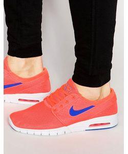 Nike SB | Кроссовки Stefan Janoski Max 631303-841 Красный