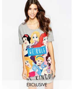 Missimo | Ночная Сорочка Disney We Rule The Kingdom Серый