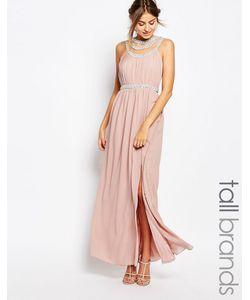 TFNC Tall | Платье Макси Mauve