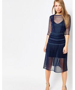 Body Frock | Моделирующее Платье С Плиссированной Юбкой И Кружевом Louisa