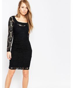 Body Frock | Кружевное Моделирующее Платье Grace Черный