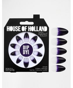 ELEGANT TOUCH   Накладные Ногти House Of Holland Nails By Dip