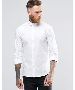 Noose & Monkey   Облегающая Рубашка Белый