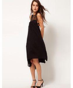 Sophia Kokosalaki | Платье-Свинг С Кружевной Вставкой И Узором Глаз Kore By