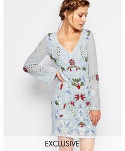 Frock and Frill | Платье Мини С Длинными Рукавами И Вырезом Сзади