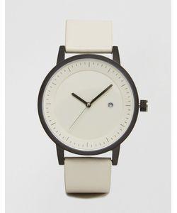 Simple Watch Company | Часы С Кожаным Ремешком Swco Earl Белый