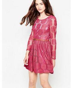 Mela Loves London | Платье Из Цветочного Кружева С Длинными Рукавами