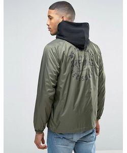 Huf | Спортивная Куртка С Принтом На Спине