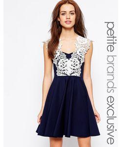 Lipstick Boutique Petite | Платье Для Выпускного С Кружевной Отделкой