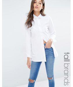 Waven Tall | Джинсовая Рубашка Белый