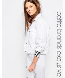 Waven Petite | Джинсовая Куртка Белый