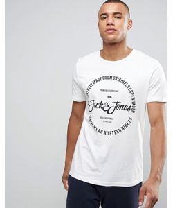 Jack & Jones | Футболка С Круглым Вырезом И Принтом Логотипа Originals