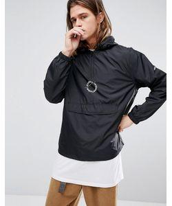 Stussy | Черная Куртка С Принтом На Спине