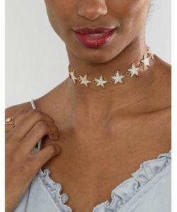 Ashiana | Ожерелье-Чокер Со Звездой