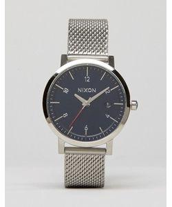 Nixon | Часы Серебряного Цвета С Сетчатым Ремешком Rollo 38