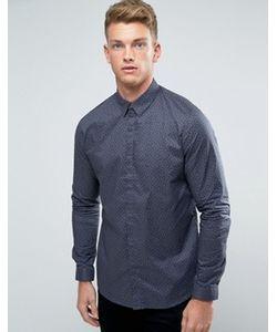New Look | Рубашка Классического Кроя В Горошек