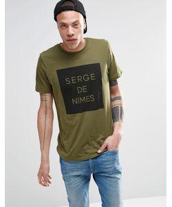 Serge DeNimes | Футболка So Serge Зеленый