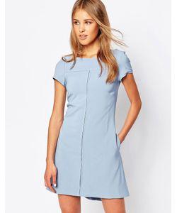 Closet | Цельнокройное Платье Со Шлицей