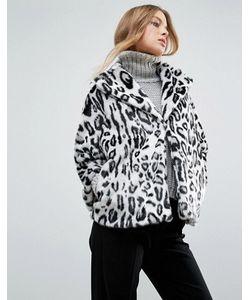 Helene Berman | Пальто Из Искусственного Меха С Леопардовым Принтом
