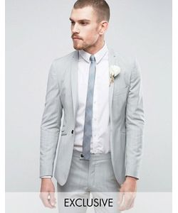Hart Hollywood | Super Skinny Wedding Suit Jacket With Notch