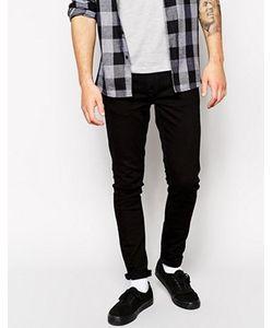 Nudie Jeans Co | Черные Джинсы Скинни Nudie Jeans Skinny Lin