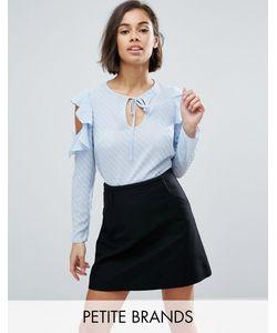 Miss Selfridge Petite | Рубашка С Вырезами На Плечах