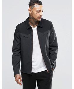 Asos | Строгая Куртка С Молниями Серый
