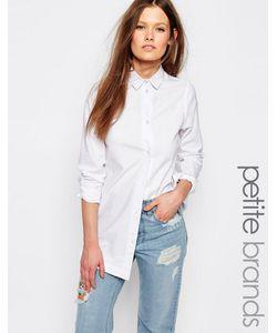 Waven Petite | Джинсовая Рубашка Строгого Кроя Белый