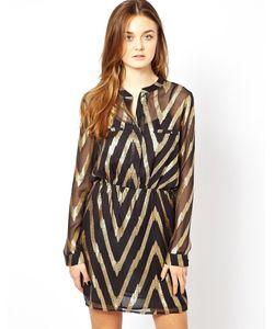 Aryn K | Платье С Длинными Рукавами