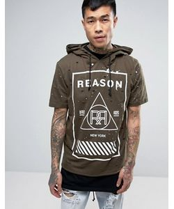 Reason | Худи С Короткими Рукавами