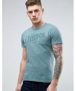 Abercrombie and Fitch | Abercrombie Fitch T-Shirt Muscle Slim Fit Tonal Logo In