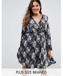 Praslin | Платье С Юбкой В Складку И Цветочным Принтом Plus