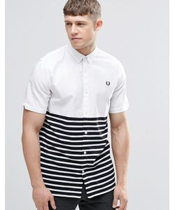 Fred Perry | Рубашка Слим С Карманом И Отделкой В Полоску