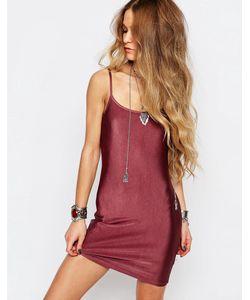 ebonie n ivory | Облегающее Платье Фиолетовый