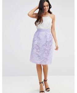 Lashes of London | Платье С Пышной Юбкой Фиолетовый