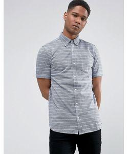 Jack & Jones | Облегающая Рубашка В Полоску С Короткими Рукавами