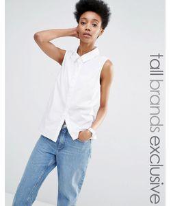 ADPT Tall | Рубашка Без Рукавов Белый