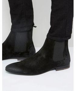 WALK London | Замшевые Ботинки Челси Черный