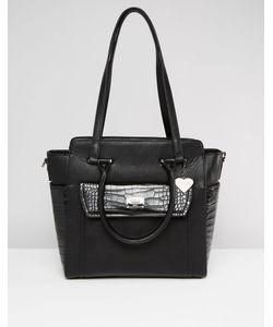 Marc b | Tote Bag With Front Pocket Черный