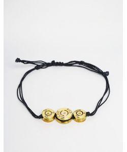 Love Bullets | Браслет С Тремя Пулями Lovebullets Черный
