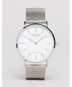 Reclaimed Vintage | Серебристые Классические Часы Серебряный