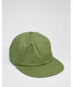 Asos | Винтажная Зеленая Бейсболка Зеленый