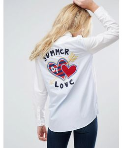 Tommy Hilfiger | Рубашка С Нашивкой-Сердечком