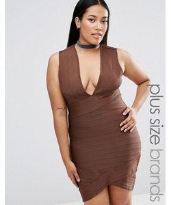 Missguided Plus | Бандажное Платье Мини