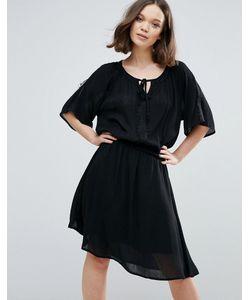 ICHI | Платье С Рукавами Кимоно