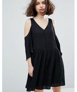 Monki | Платье С Открытыми Плечами