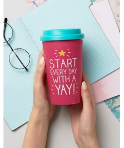 Happy Jackson | Yay Travel Mug
