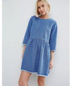 Asos | Свободное Джинсовое Платье