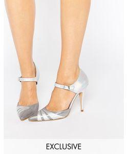 TERRY DE HAVILAND | Серебристые Переливающиеся Туфли На Каблуке Terry De Havilland Fran Белое